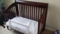 Crib $100 obo - Good quality / convertible to day bed.