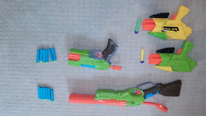 Soft foam dart guns