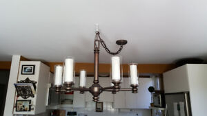 Hinckley 6-light Solid Brass Chandelier