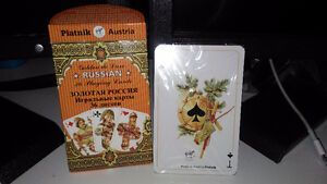 Golden Russia Playing Cards