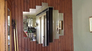 Large Beveled Mirror and 2 Small Mirrors Regina Regina Area image 2