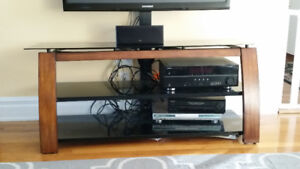 tv table and bracket
