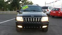 2002 JEEP GRAND CHEROKEE LTD *** FULLY LOADED!!! CERTIFIED $4995