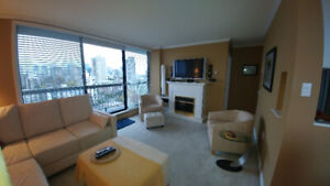1 B/R Furnished Penthouse Apartment in Westend