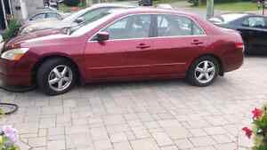 2004  Honda Accord  4 Dr  FULL LOAD leather AUTOMATIC