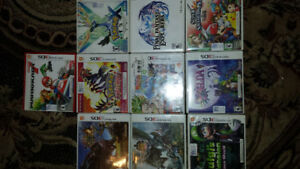 3ds games for sale. $25 per game. Like  Mario kart 7 Super smash