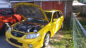 2002 Mazda protige 5 hatchback 1000 obo or part out