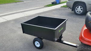 Yard Commander 10-cu ft Dump Trailer. In great condition. can ca