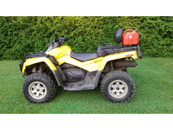 Used 2008 Bombardier OUTLANDER MAX XT 650