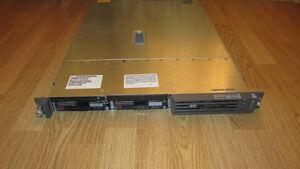 HP Proliant DL360 G3, 2 CPU Xeon 2.8GHz, RAM 4GB, RAID 18GB