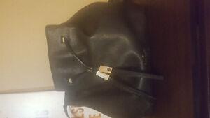Black Kate spade bucket bag