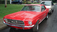 1967 Mustang coupe