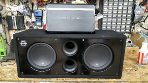 DUAL JL W3 SUBS WITH EXILE AMP
