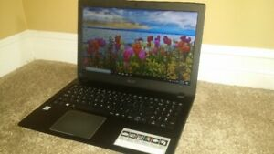 "15.6"" Acer Laptop, Intel Core i3-7100U, 8GB RAM, 1TB HDD"
