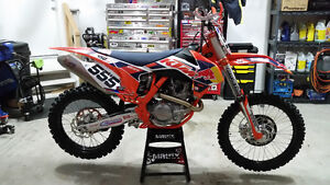 2014 KTM Factory Edition 450 SXF *LOW HOURS*