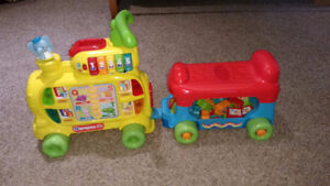 VTech sit to stand Alphabet Train for babies and toddlers