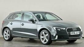 image for 2016 Audi A3 1.6 TDI Sport 5dr S Tronic Auto Hatchback diesel Automatic