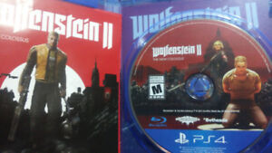 Used copy, WOLFENSTEIN II the New Colossus