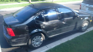 2002 Volkswagen Jetta Sedan 2.0L Automatic good for parts