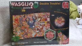 Wasgij 'Double Trouble' Christmas jigsaw