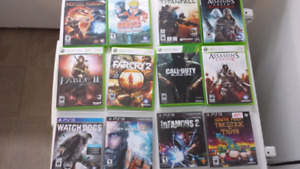 360 And Ps3 Games