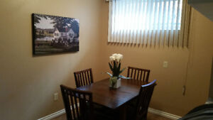 2 bedroom fully furnished basement suite available immediately!
