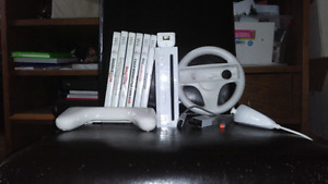 Wii with 6 games and more