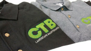Custom Screen Printed Shirts (t-shirts, polos, sweaters...)