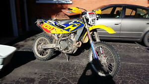 2004 husqvarna 450 4 stroke ..with ownership for the road