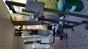 4 person work out station