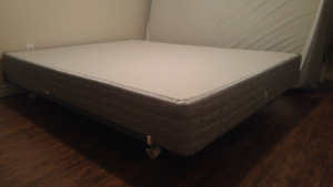 Free queen box spring - PICK UP ONLY