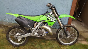 Kawasaki kx 125 mint condition