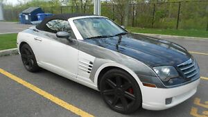 2005 Chrysler Crossfire 4 couleurs Cabriolet