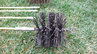 Chimney sweep cleaner brush and rods Be safe / save money