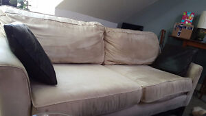 Soft microfibre couch