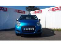 2010 10 SUZUKI ALTO 1.0 SZ3 5 DOOR.2WOMAN OWNERS.FULL SH.AMAZING VALUE FOR MONEY