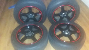 Tires and Rims. Great Deal