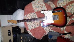Trade for Goldwing Fender Telecaster  Sunburst Nitro finish