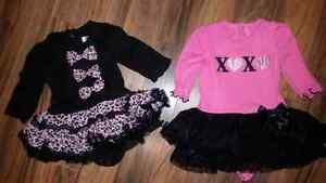Glam. Worn only once!! $5 each Size 0-3 mths
