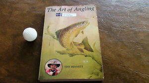 2 Books: Art of Angling, Tiny Bennett 1970/How To Tempt A Fish