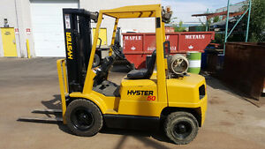 5000 Lbs Hyster H50 forklift
