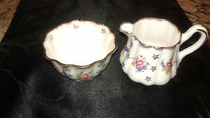 Cream Pitcher and Sugar Bowl
