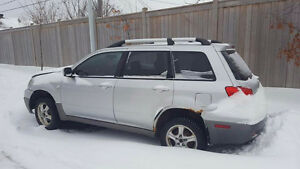 2003 Mitsubishi Outlander Sedan