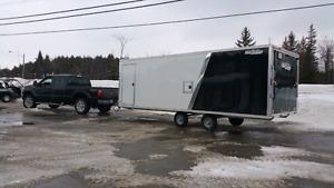 22x8.5x6.5  Deckover Snowmobile, toyhauler trailer