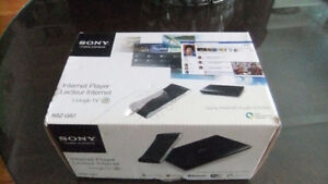 sony media player model NSZ-GS7, exc cond