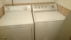 Kenmore washer and Performa dryer
