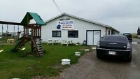 Tire shop/mechanics/rv storage and towing service