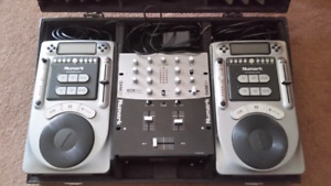 Numark Axis 4 and Numark DXM01 mixer for sale!