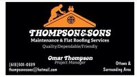 Thompson & Sons Roofing