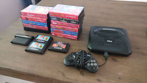 Sega Genesis with 1 controller and games